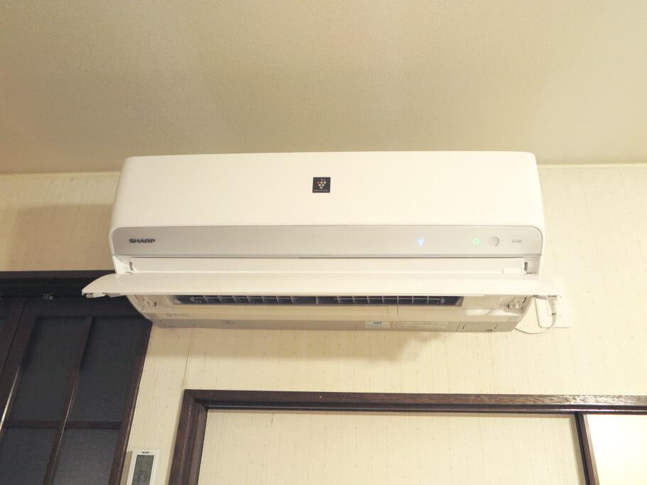 埼玉店空気清浄機付きエアコン